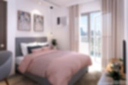 Vion Tower - 1 Bedroom Master's Bed
