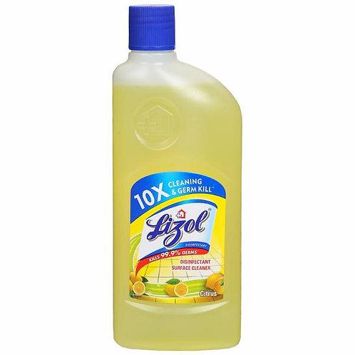 Lizol Disinfectant Surface & Floor Cleaner Liquid, Citrus - 500 ml