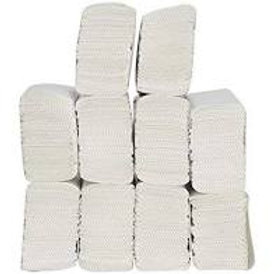 Velox 1000 Sheets Pack Of 10 Piece M Fold Tissue Paper High Absorbent.