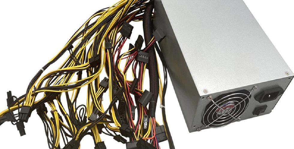 Mining Power Supply 1800 Watt Dual Fan