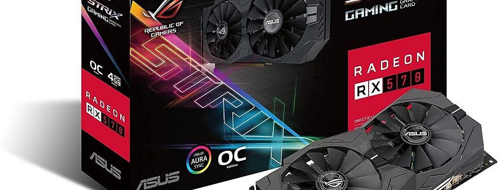 Used Asus ROG Strix Radeon Rx 570 8GB Gaming OC Edition GDDR5