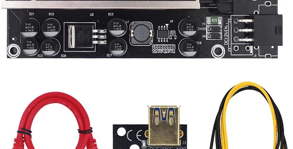 Latest 2021 V009s Plus Pci-e 16x to 1x Riser Card with LED Indicators
