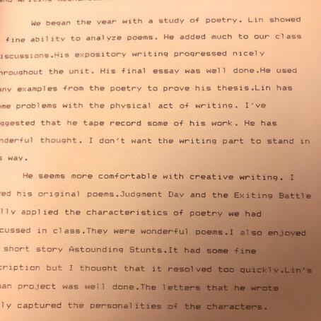 Handwriting and Hamilton