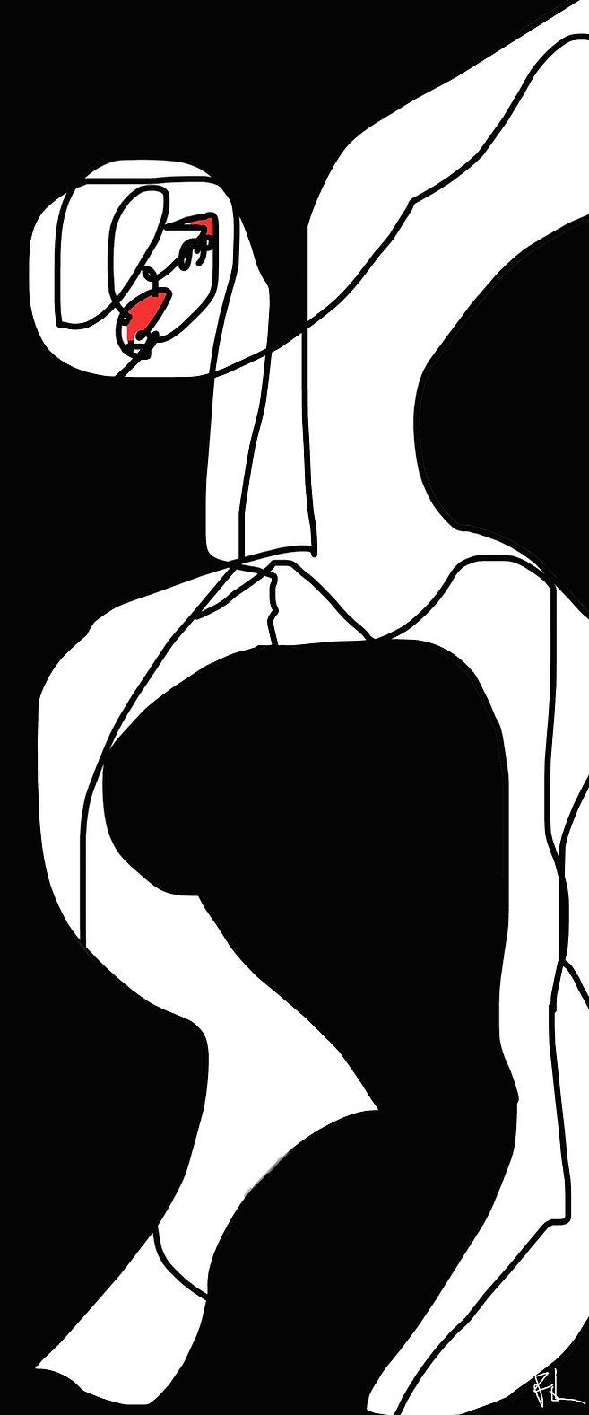 artiste fol humeurs peintre design contemporain beau graphisme vente oeuvre d'art