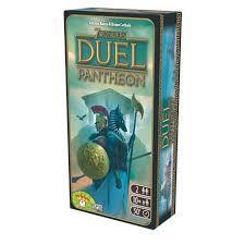 Seven wonders Duel : Extensions Panthéon
