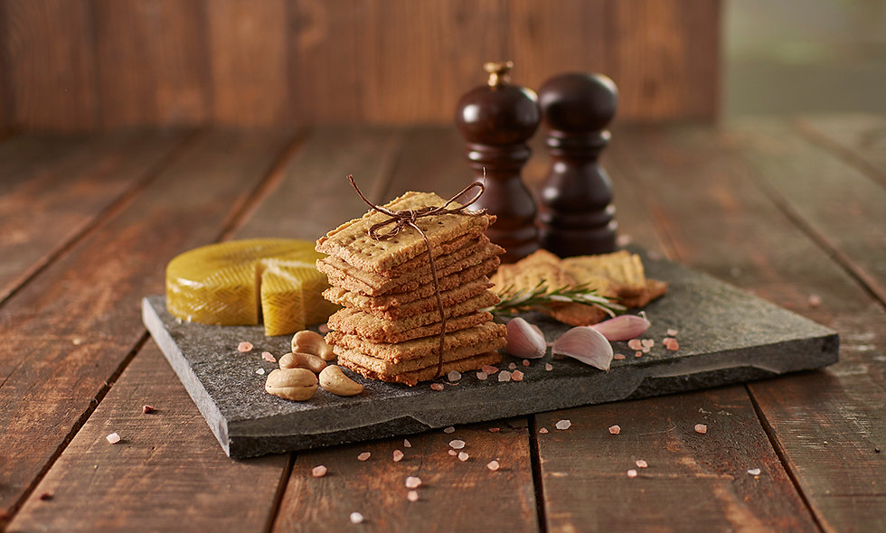 Galletas saladas de Nuez de la India (90g)