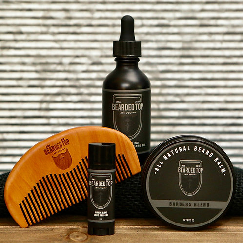Barbers Blend Grooming Kit