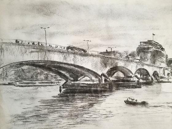 Waterloo bridge, Print