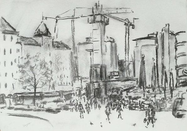 Movement in Oslo city, Original