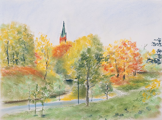 Autumn day, Print