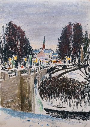 Winter in Vigeland, Original