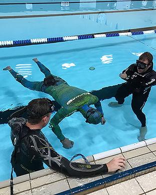 Static Apna in Pool