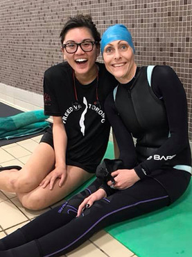 Freediving Competition in Toronto