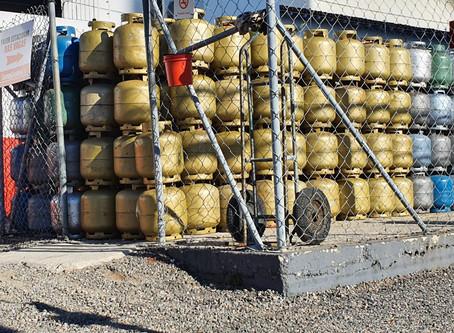 Queda na distribuição afeta venda de botijões de gás