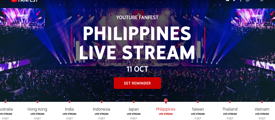 YouTube FanFest2020へ出演決定!