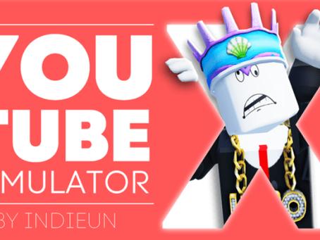 Roblox YouTube Simulator X Codes - September 2021