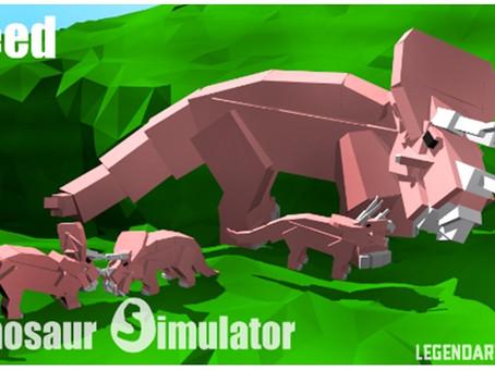 Roblox Dinosaur Simulator Codes - May 2021