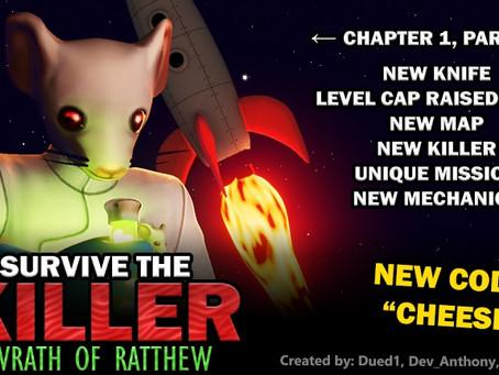 Roblox Survive The Killer Codes - May 2021
