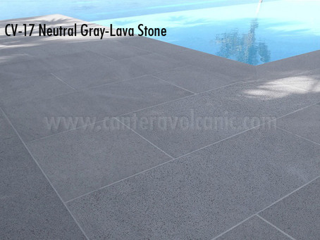 Top 4 Reasons to Choose Lava Stone Tiles for Pool Decks, Patios, and Driveways.