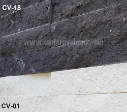 Rough texture Lava rock_White Mint
