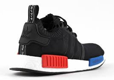 best service 32b45 9e033 Adidas NMD Runner R1 OG Original PK Primeknit Black Red Blue