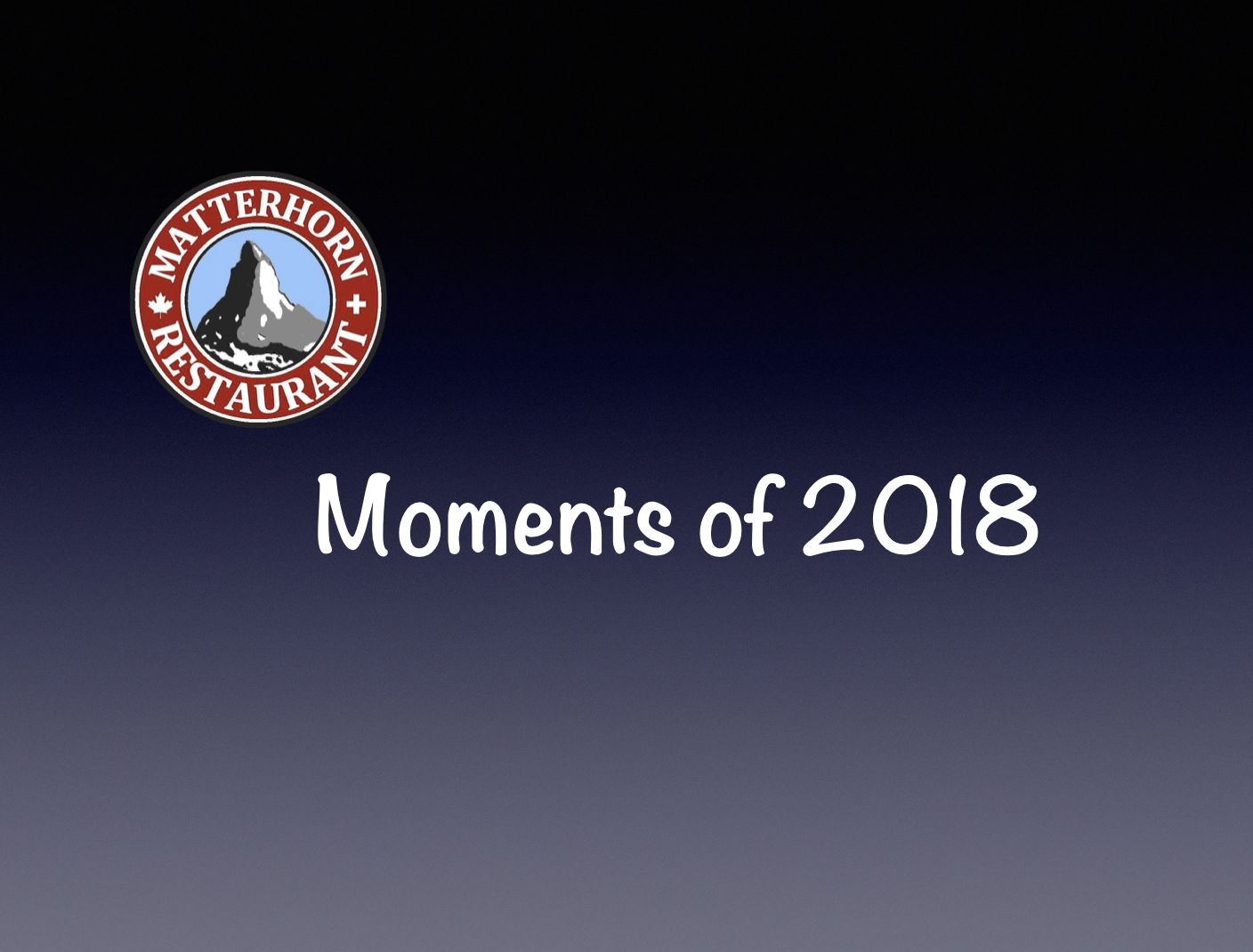 Moments of 2018