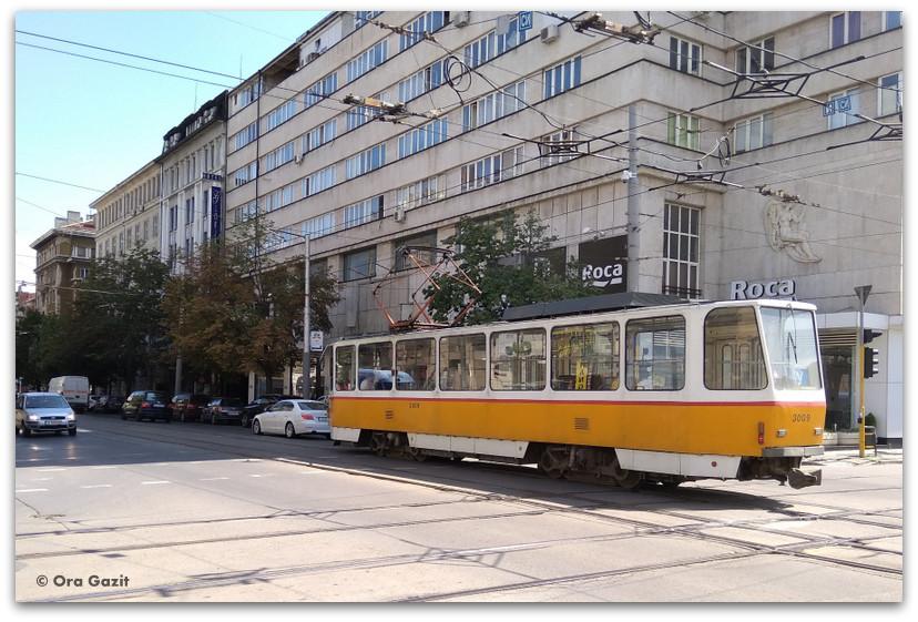 סופיה בולגריה - טיול עירוני - תחבורה ציבורית - מה לעשות בסופיה