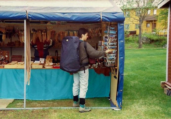 מזכרות, שבדיה - יומן מסע - טיול אחרי צבא