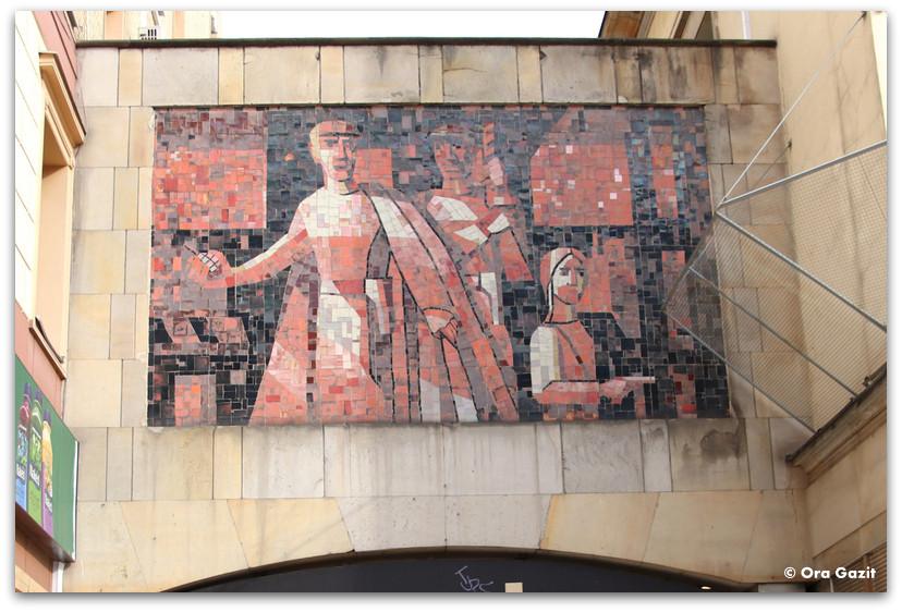 מוזאיקה - אמנות קיר - טיול בורשה - מה לעשות בורשה