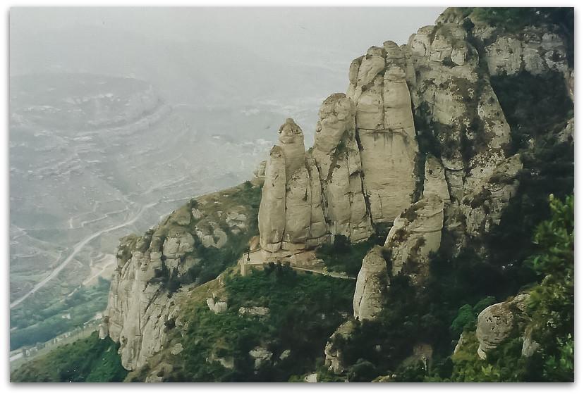 מנזר מונסראט - טיול משפחתי בספרד - אסון התאומים