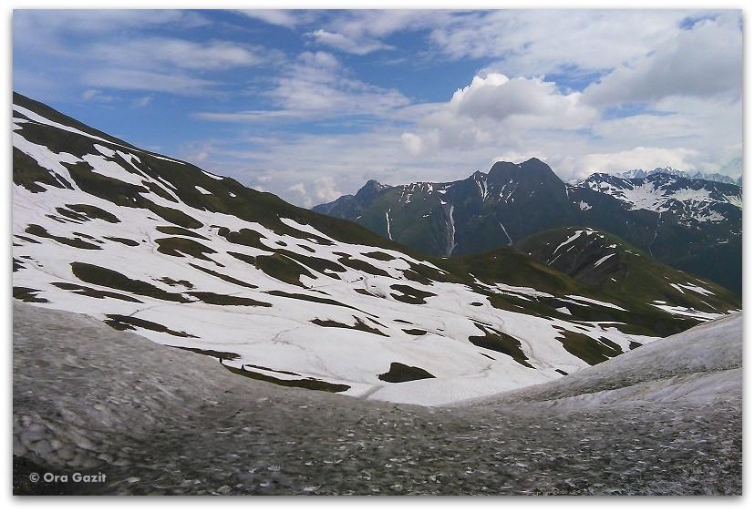 הרים מושלגים - טרק - סובב מון בלאן - יומן מסע