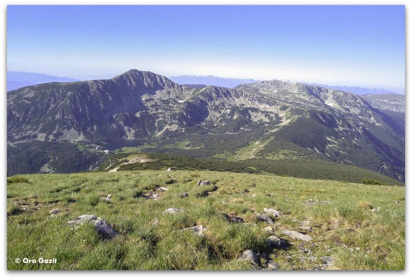 נופים בהרי רילה בולגריה - טרקים בבולגריה - יומן מסע