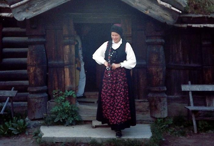 אשה נורבגית - יומן מסע - טיול אחרי צבא
