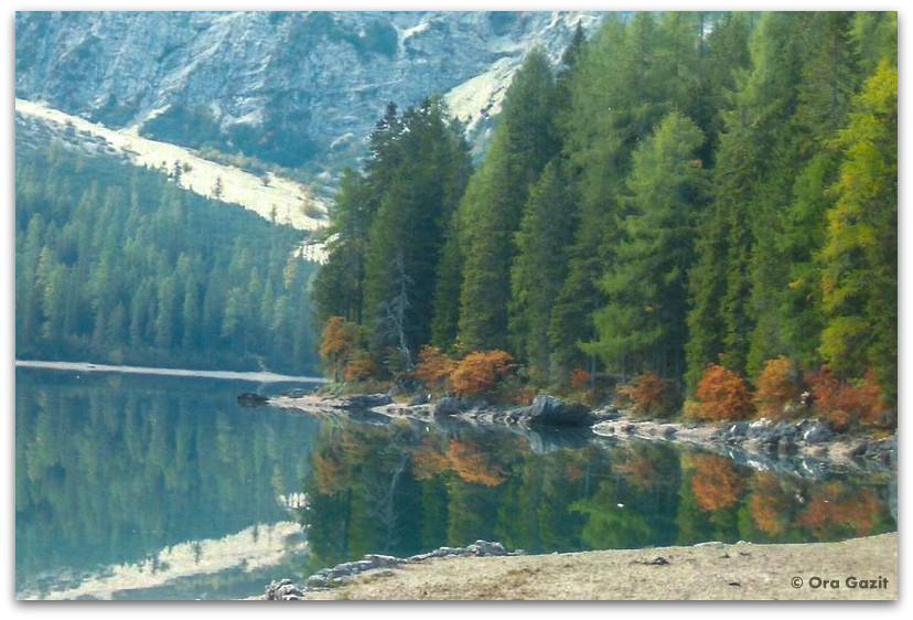 אגם בראייס, דולומיטים, איטליה
