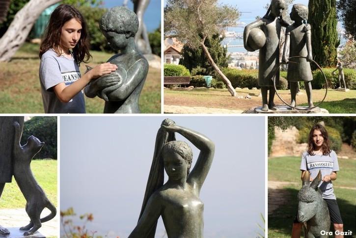 גן הפסלים של אורסולה מלבין - שביל חיפה - טרק - טיול בחיפה
