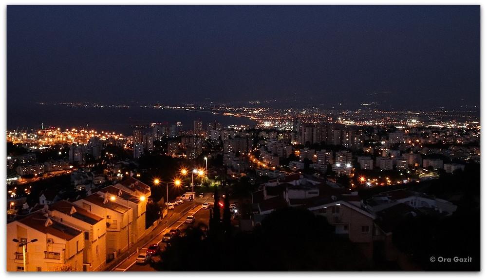 דרך נוף חיפה - תצפיות בחיפה - מסלול טיול בחיפה