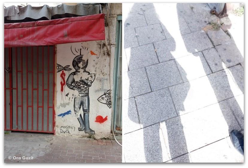 גרפיטי - טיול בתל אביב