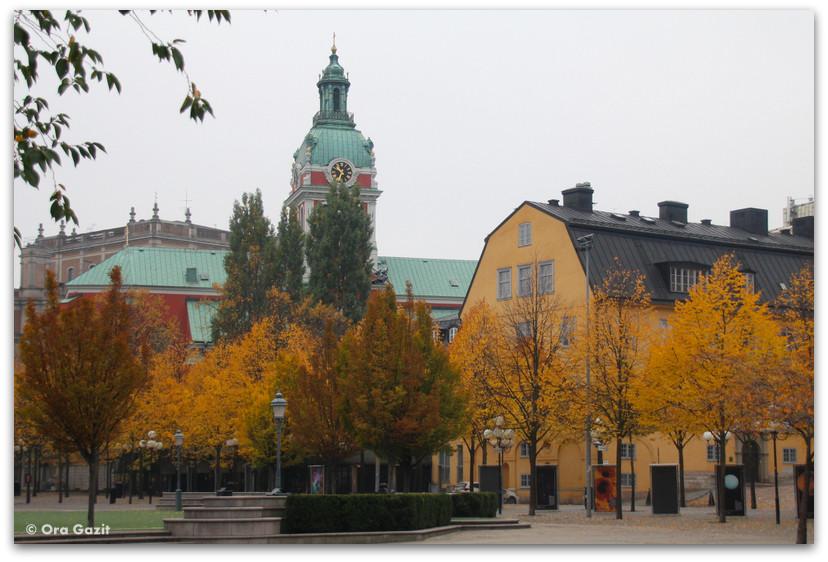 כנסיה - שלכת - שטוקהולם
