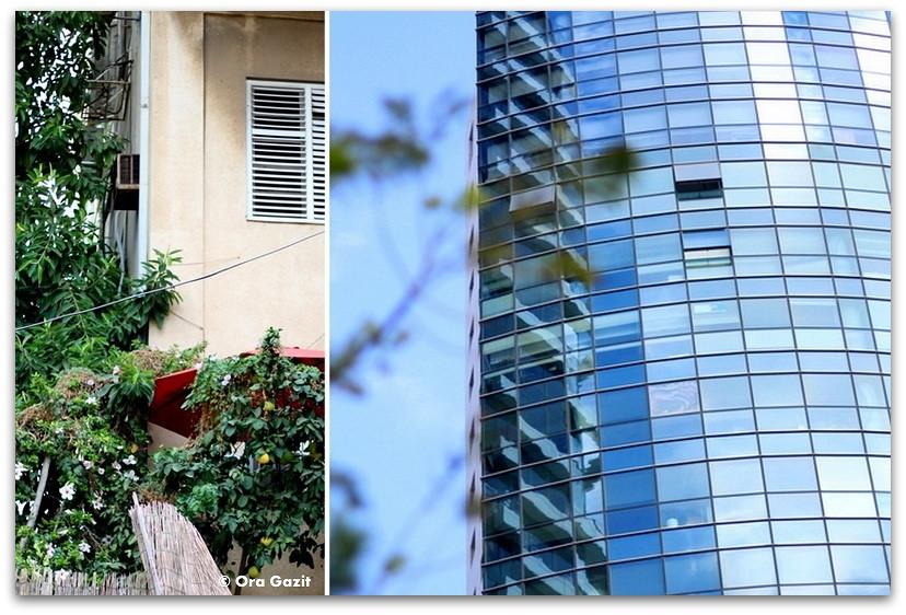 בניינים חדשים וישנים - סיורים מודרכים בתל אביב - תל אביב