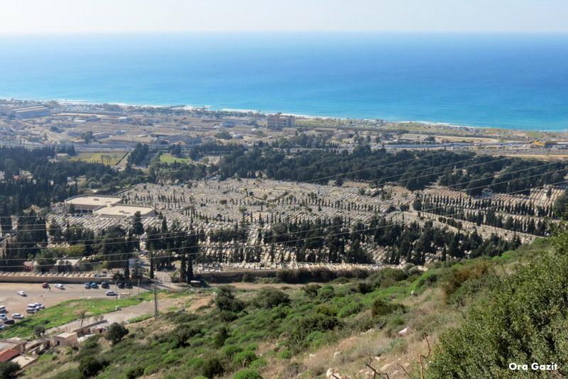 בית קברות ותצפית - נחל שיח - שביל חיפה - טרק - טיול בחיפה
