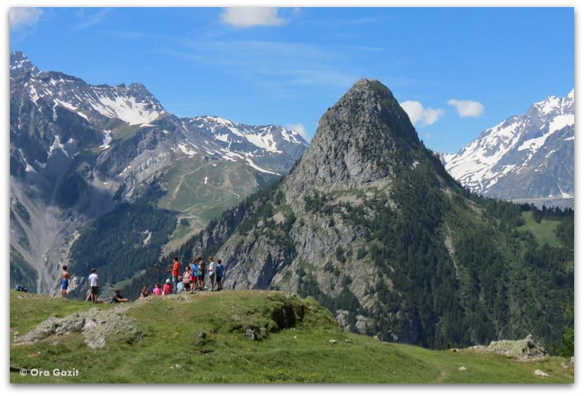 הרים, איטליה - טרק - סובב מון בלאן - יומן מסע