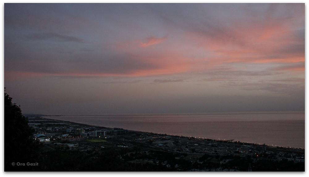 כבאביר - דרך נוף חיפה - תצפיות בחיפה