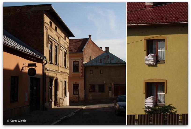 בתים צבעוניים - סלובקיה