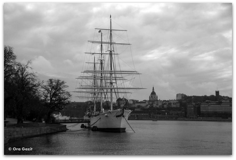 אוניית מפרשים - שטוקהולם