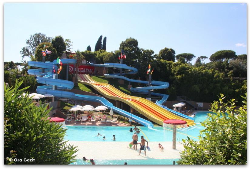 פארק מים - רומא עם ילדים, איטליה
