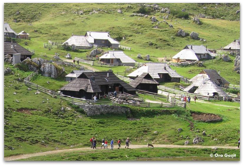 כפר בסלובניה, טיול משפחתי