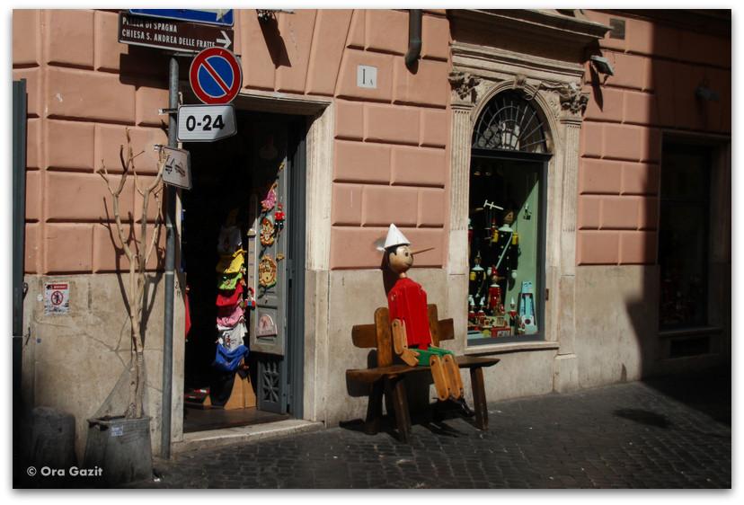 פינוקיו - רומא עם ילדים, איטליה