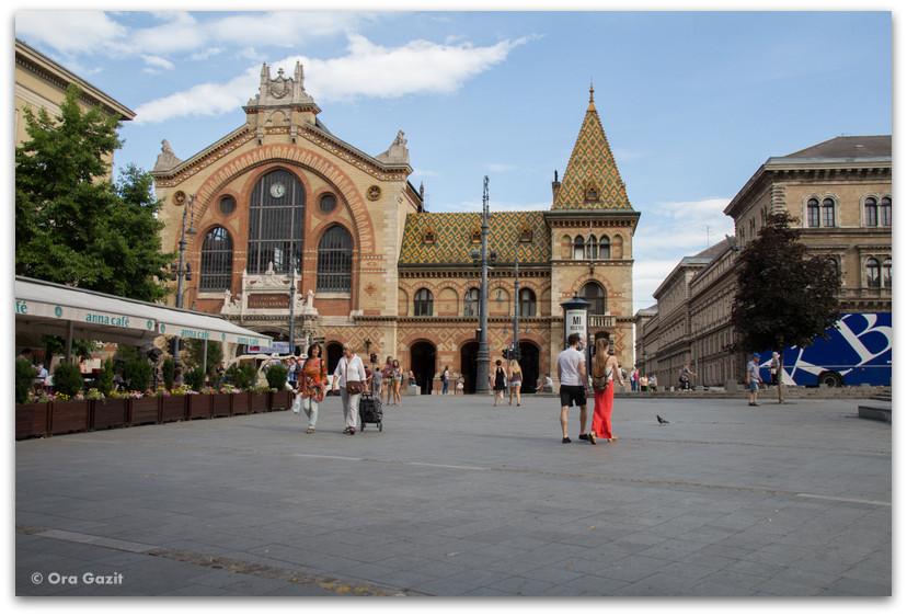 השוק המקורה - בודפשט - הונגריה
