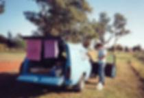 מכונית כחולה, אוסטרליה - יומן מסע - טיול אחרי צבא