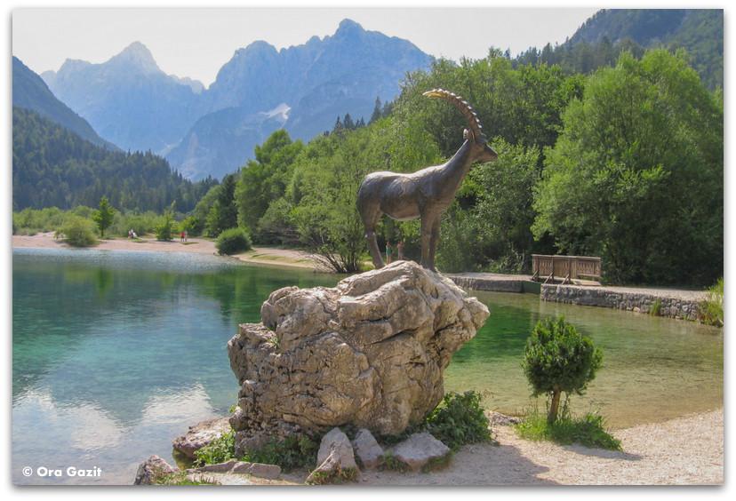 אגם יאזנה, סלובניה